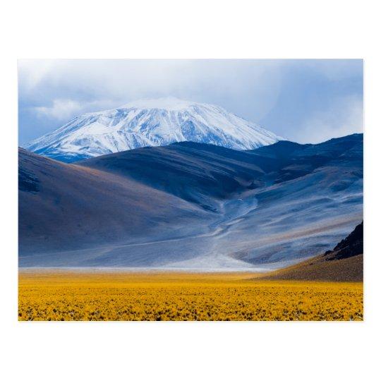 Postal Volcán Incahuasi, la Argentina