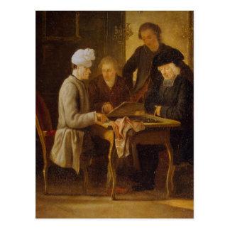 Postal Voltaire en el ajedrez
