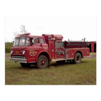 Postal voluntaria #1 del cuerpo de bomberos de