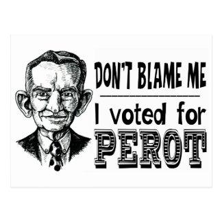 Postal Voté por PEROT