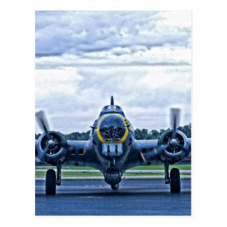 Postal Vuelo de los aviones del aeroplano del vintage B17
