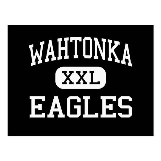 Postal Wahtonka - Eagles - altos - el Dalles Oregon