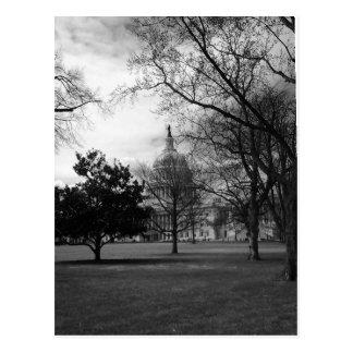 Postal Washington DC del edificio del capitolio de