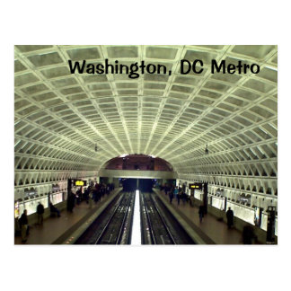 Postal Washington, DC: Estación de metro