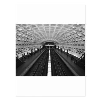 Postal Washington-DC-tren-estación
