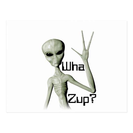 Postal ¿Wha Zup?
