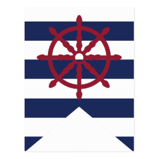 Postal Wheel Bunting Flag de la fiesta de bienvenida al