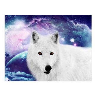 Postal White Wolf