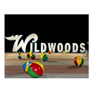 Postal Wildwoods firma adentro Wildwood New Jersey
