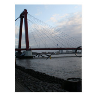 Postal Willemsbrug, Rotterdam