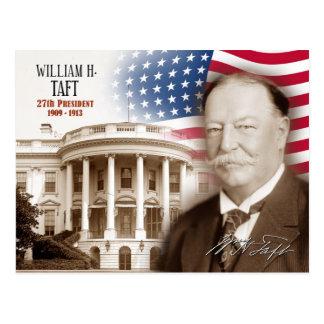 Postal William Howard Taft - 27mo presidente de los