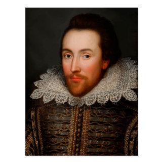 Postal William Shakespeare