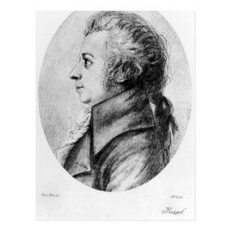 Postal Wolfgang Amadeus Mozart