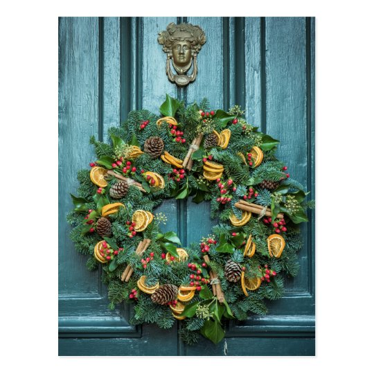 Postal Wreath