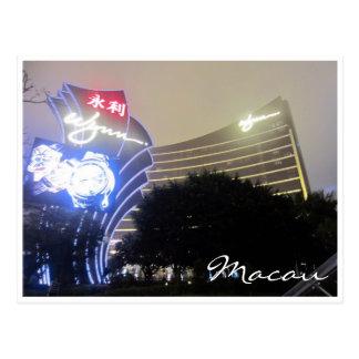 Postal wynn Macao