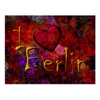 Postal Yo amor Berlín