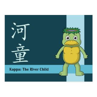 Postal Yokai Kappa (Imp del río)
