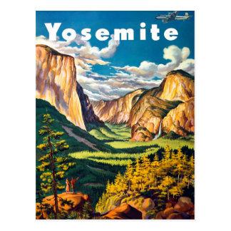 Postal Yosemite