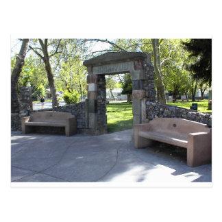 Postal Yreka, CA, entrada al parque de Yreka