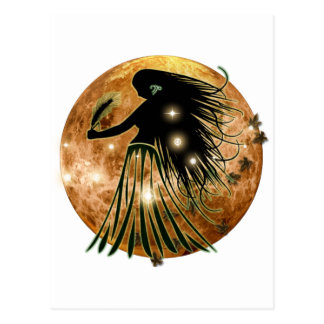 Postal Zodiaco de la mazmorra del arte - virgo
