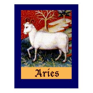 Postal Zodiaco del aries