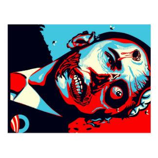 Postal zombi de obama