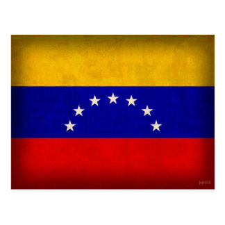 Postales apenadas bandera de Venezuela