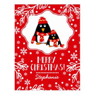 Postales conocidas del navidad de la diversión del