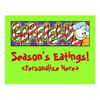 Postales de Eatings de la estación de Garfield