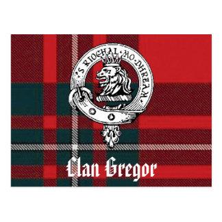 Postales de Gregor del clan