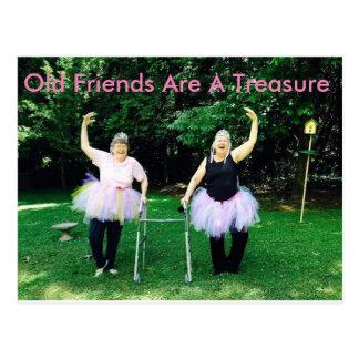 Postales de la amistad para los jubilados