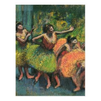 Postales de la bailarina de Edgar Degas