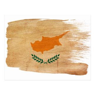 Postales de la bandera de Chipre