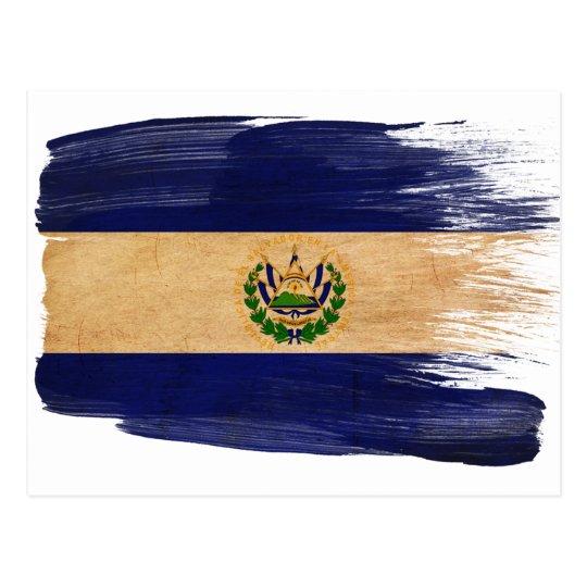 Postales de la bandera de El Salvador