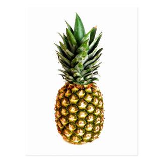 Postales de la impresión de la fruta de la piña