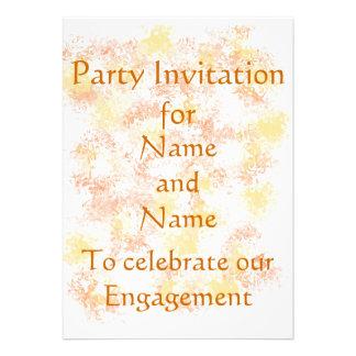 Postales de la invitación del fiesta de la invitac