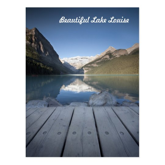 Postales de la orilla de Lake Louise