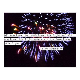 Postales de los fuegos artificiales