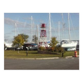 Postales de los veleros del puerto deportivo