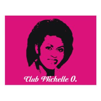 Postales de Michelle O del club, rosas fuertes