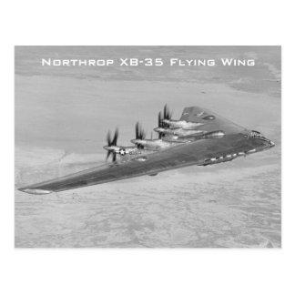 Postales del ala de vuelo de Northrop XB-35