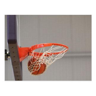 Postales del aro de baloncesto