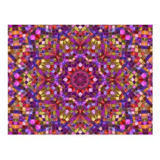 Postales del caleidoscopio     del mosaico