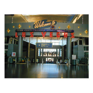 Postales del concurso D de Las Vegas del aeropuert