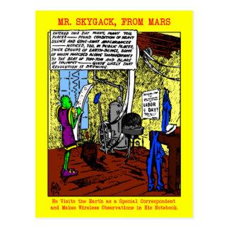 Postales del Día del Trabajo de Sr. Skygack Observ