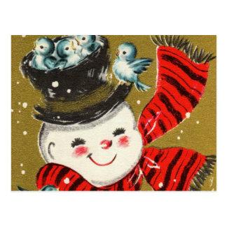Postales del muñeco de nieve el |