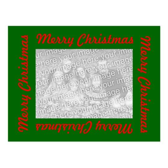 Postales del navidad con la foto