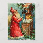 Postales del navidad de Papá Noel del Victorian