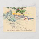 Postales del navidad del Victorian