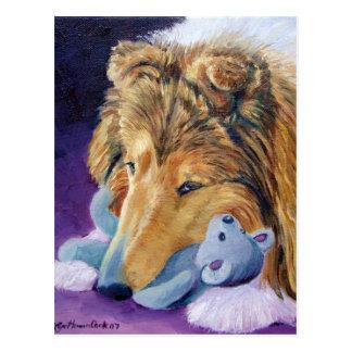 Postales del perro pastor de Shetland